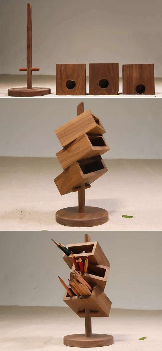 Who Doesn T Want To Have One Awesome And Handy Wooden Desk Organizer That Not Only Looks Beautiful But Can All Your Mini Office Items Properly