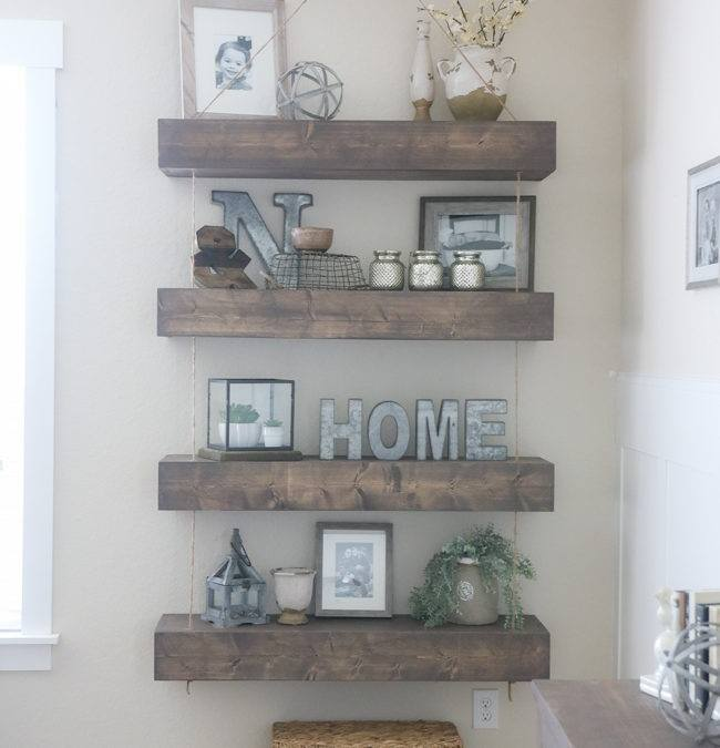 Diy Floating Shelves For Bathroom: 20 Cool Woodworking Projects To Fall In Love With