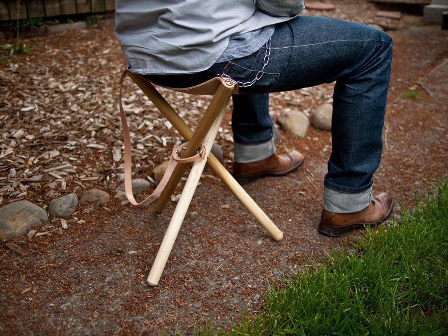 Tripod stool plan