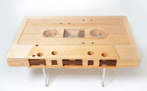 Honestly, I Donu0027t Know How To Make This One, But It Seems A Really Nice  Example Of Creative Woodworking. This Table Can Also Be Reversed From Side  A To B, ...
