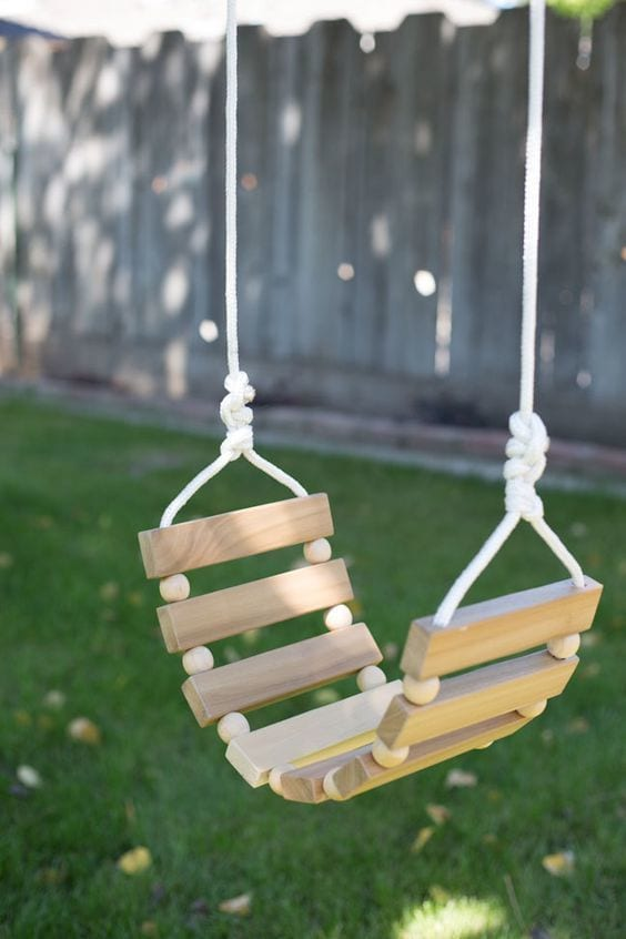 Homemade swing