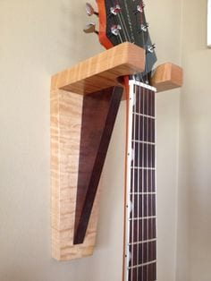 Stylish guitar holder