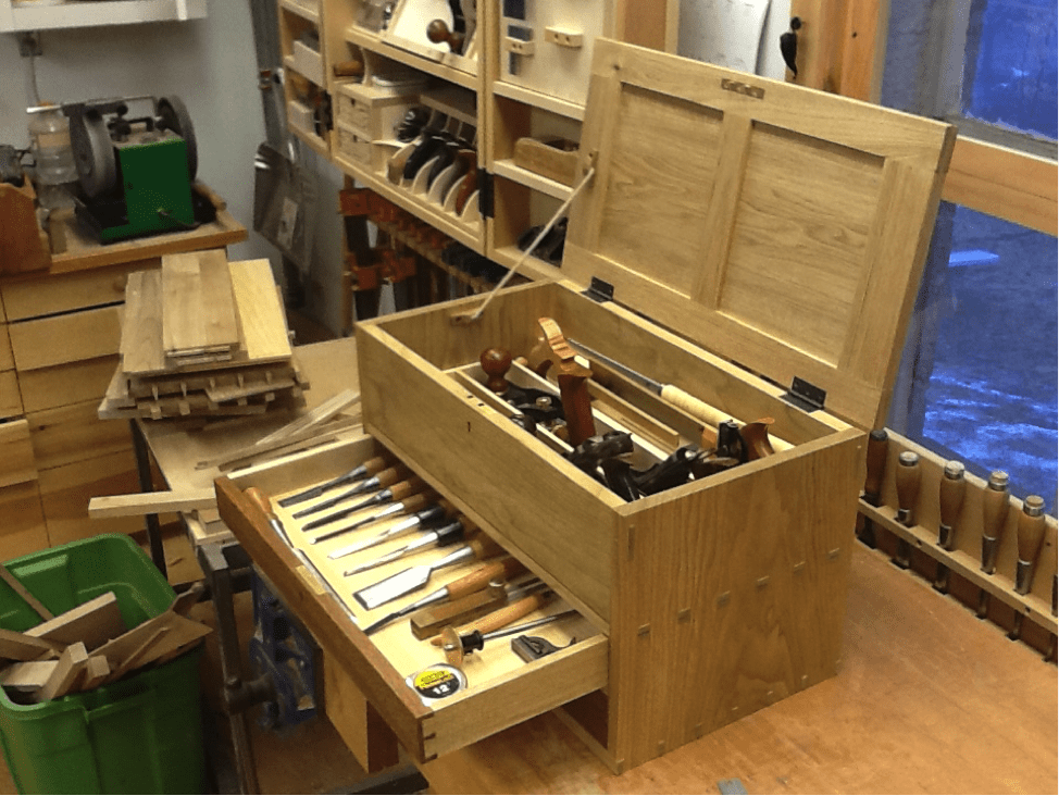 Grandpa's Tool Chest | Woodworking Project | Woodsmith Plans |Tool Box Woodworking Plans