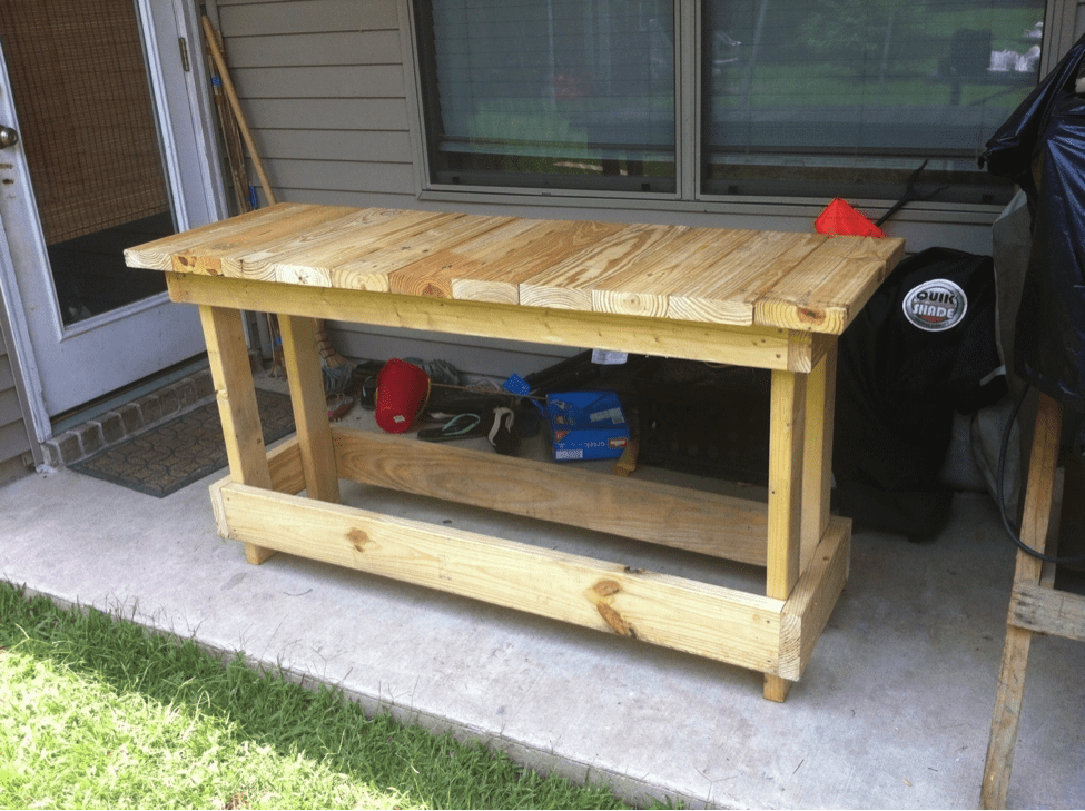 Free Simple to build Workbench Woodworking Plan28 Free Woodworking Plans   Cut The Wood. Free Plans Building Wood Workbench. Home Design Ideas