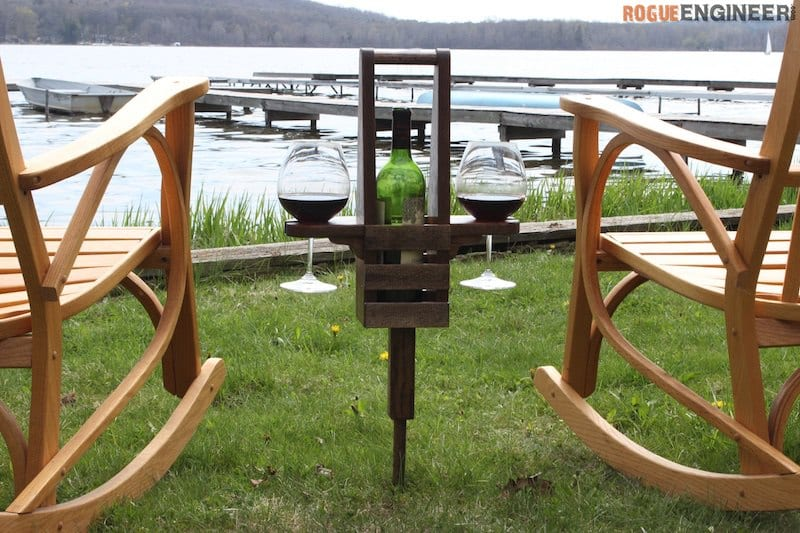 Diy wine caddy plan