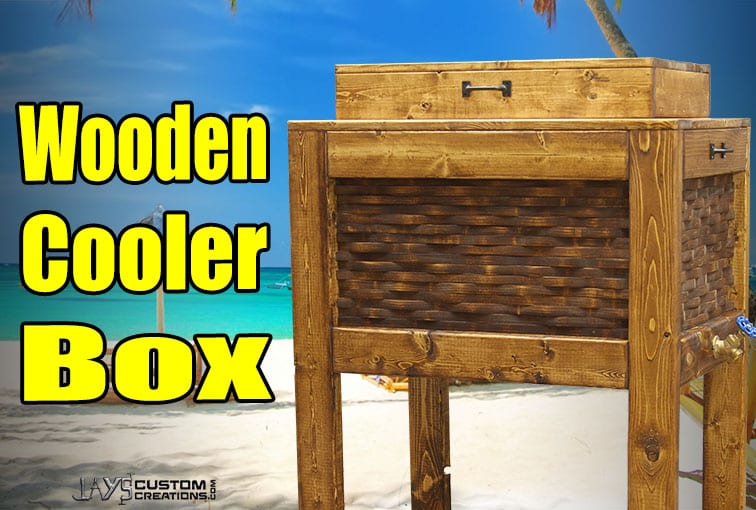 Build a patio cooler