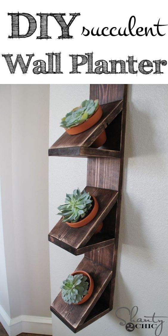 Unique wall planter