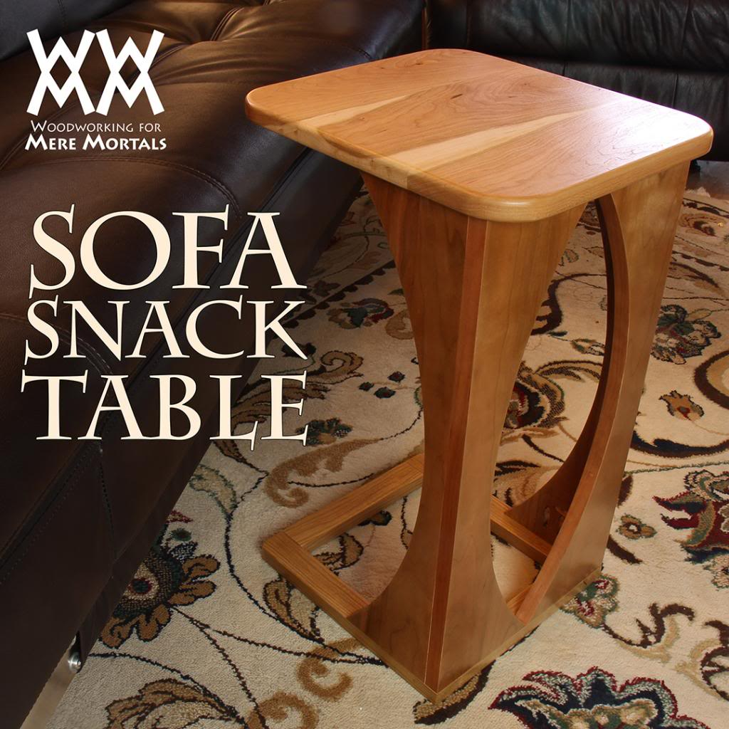 Sofa snack table project