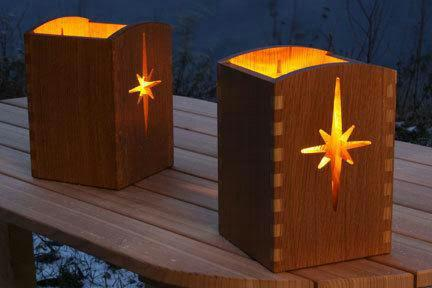 Cute Wooden Lamps