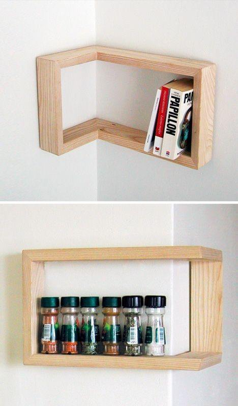 16 Small Corner Wall Shelf