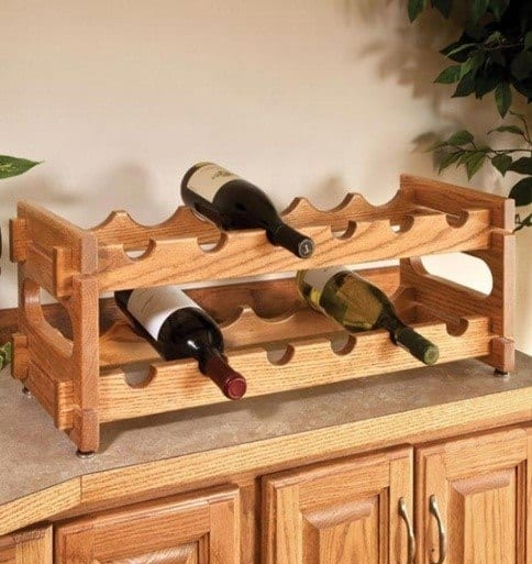 Different Style Of Bottle Stand