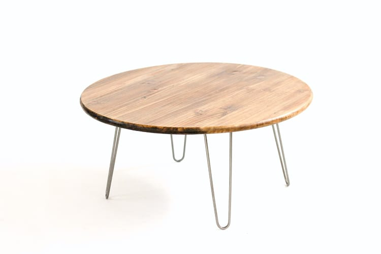 Lovely In these days the hairpin leg coffee table is pretty modern Simply add a thick segment of the wonderful and beautiful textured wood to a hair pin set In 2019 - Contemporary tree slice coffee table Awesome