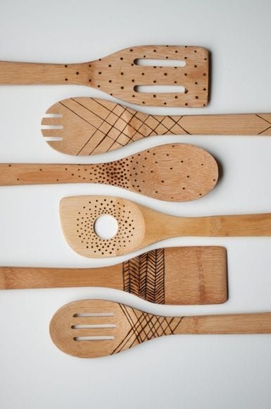 Different Styles Spoons