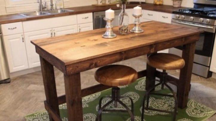 $20 to add an awesome island to your kitchen is unbelievable