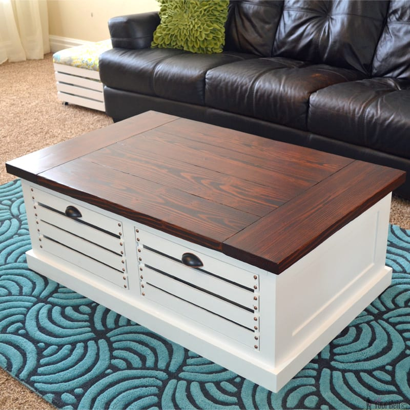 Free Crate Coffee Table
