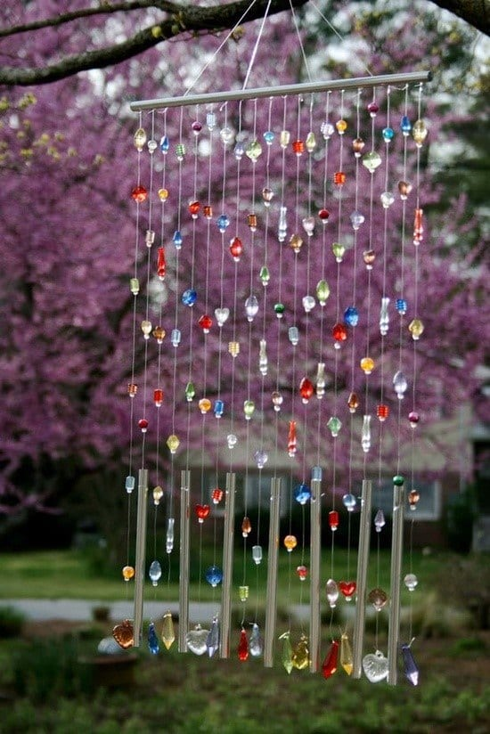 Popsicle Stick Wind Chime