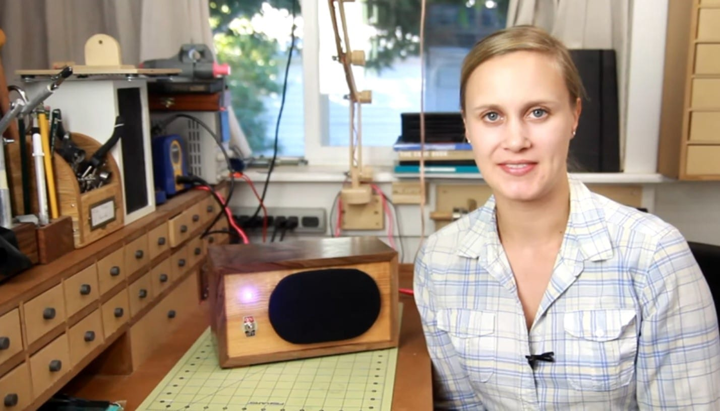 how to make wooden bluetooth speakers diy project cut the wood