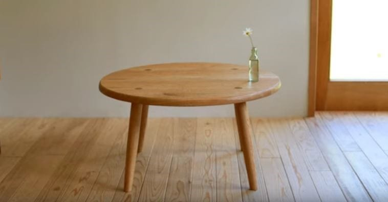 How To Make A Small Table With Carving Diy Project Cut The Wood