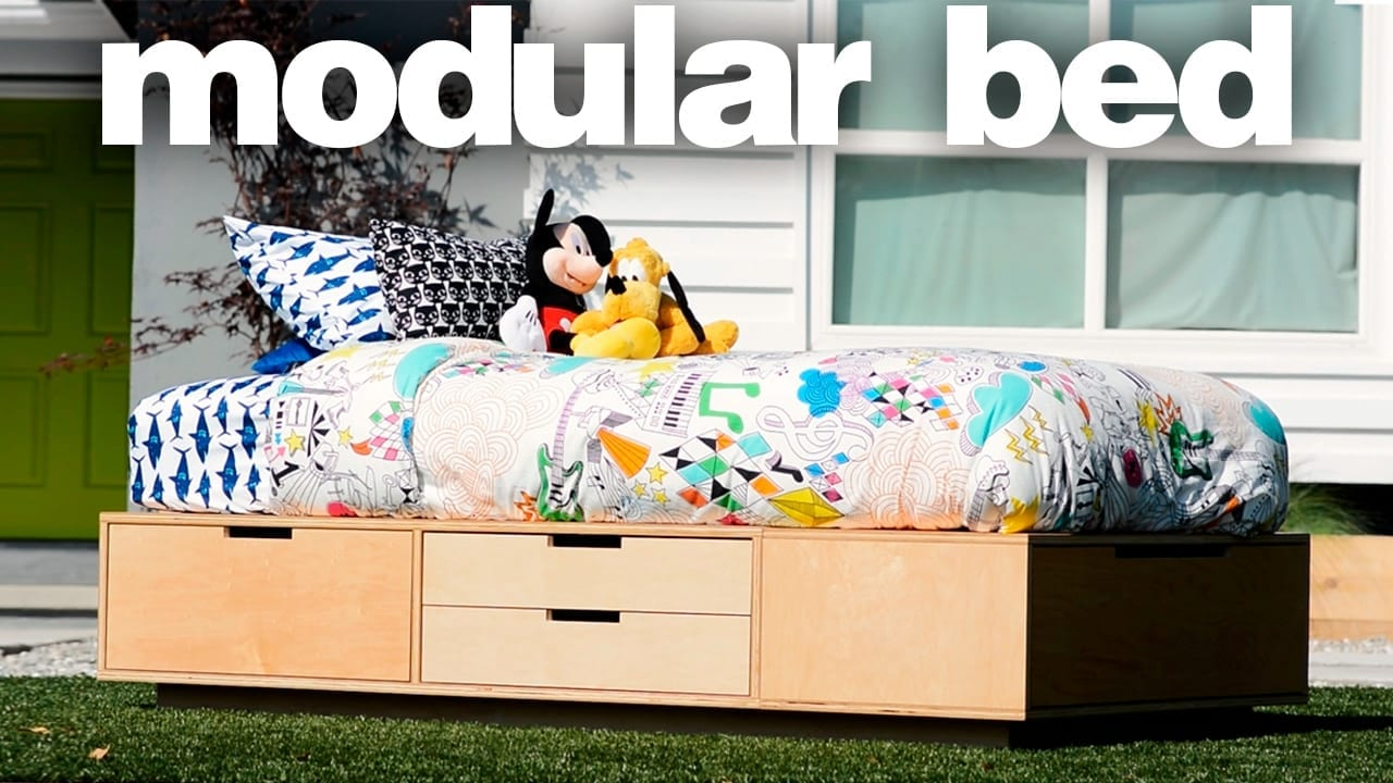 making modular beds