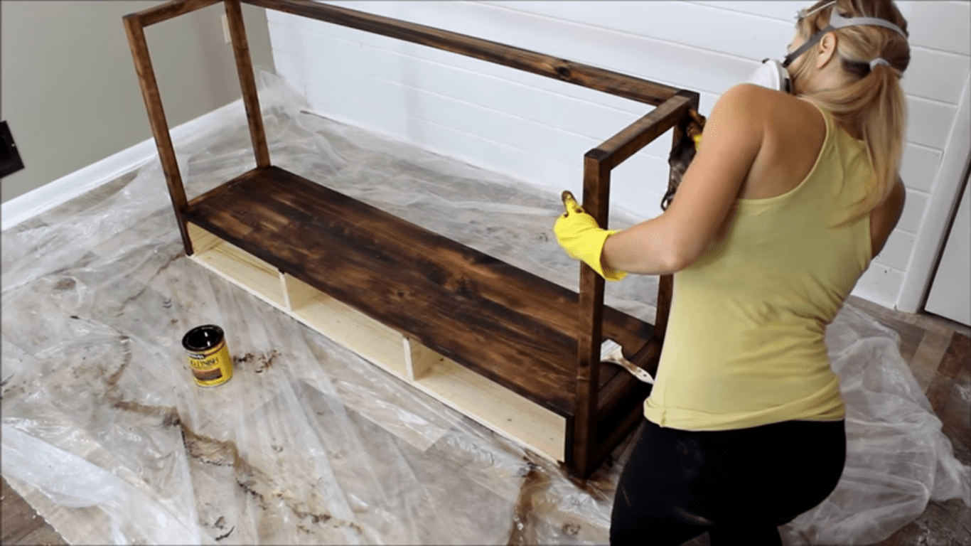 step 10 apply wood recolors