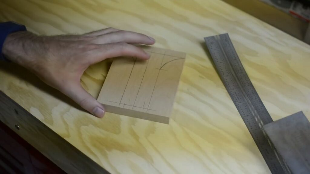 Step 1: Draw The Shape Of The Handle