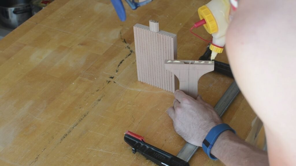 Step 4: Join The Board To The Handle (Gluing The Board And Handle Together)