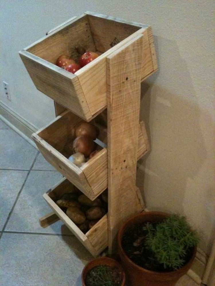 7 Stylish Stand For The Vegetables