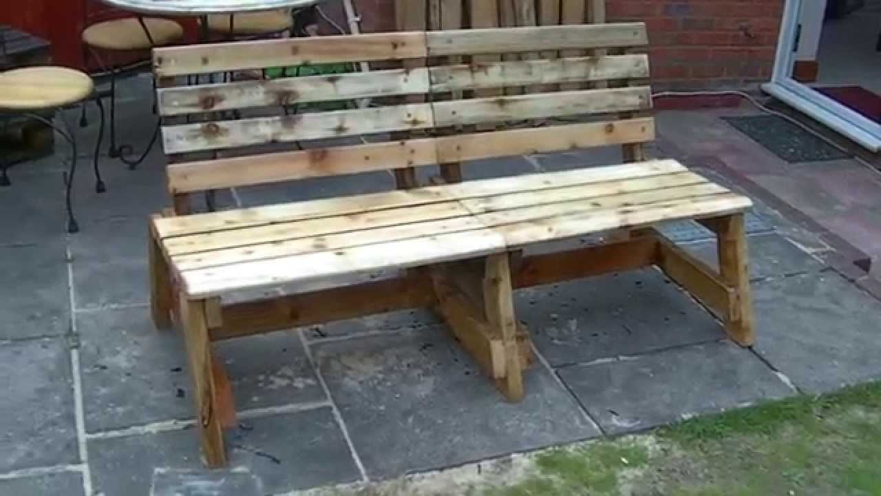 Want To Enhance The Look Of Your Garden Or Yard? Also Willing A Unique  Design For It? Then, Building A Mini Wooden Garden Bench Might Fit Your  Needs ...