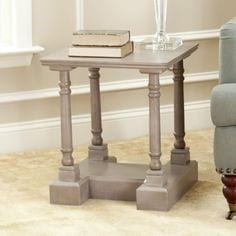 Wooden Sofa Side Table