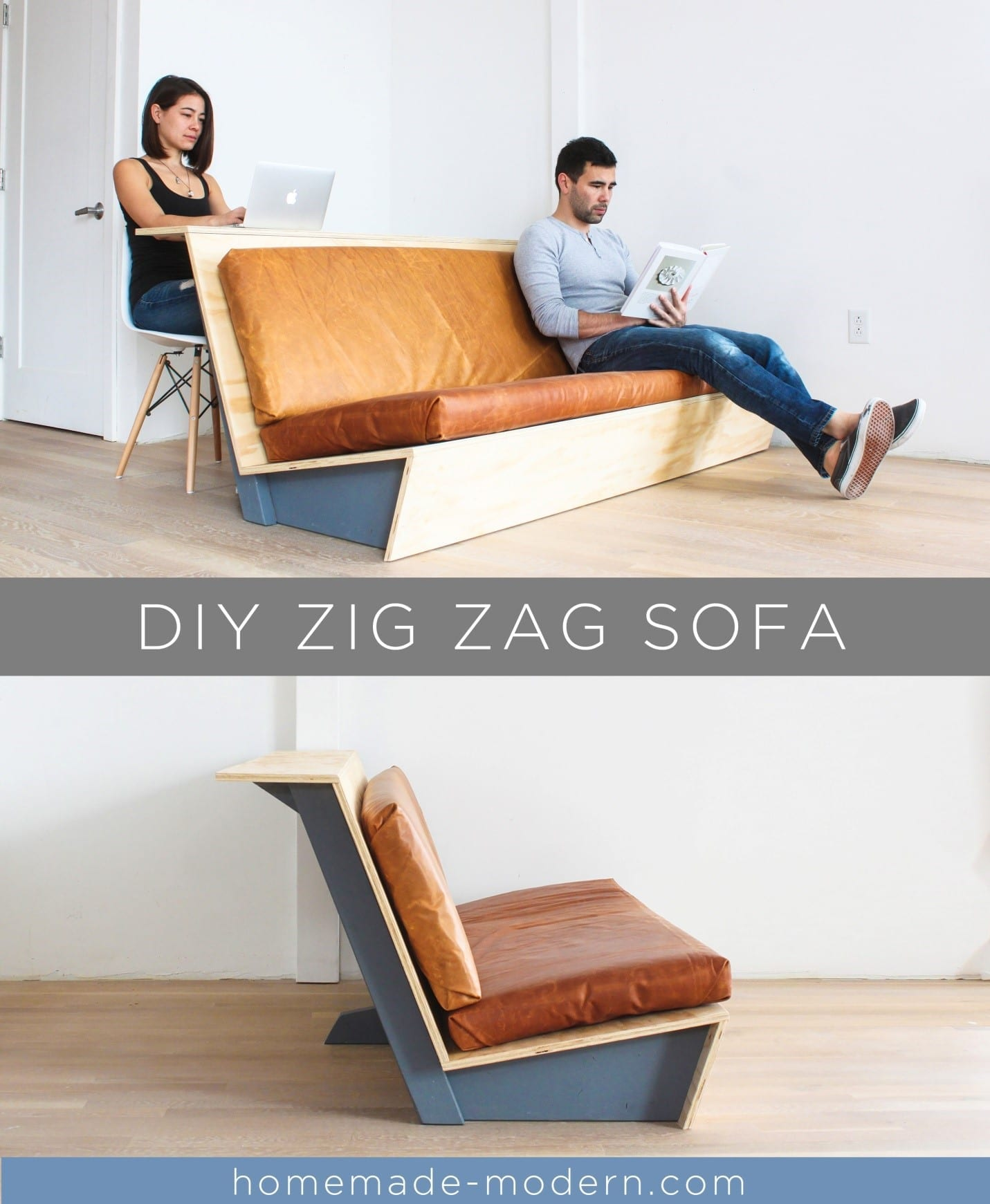 How To Build A Modern Couch With Table Diy Project