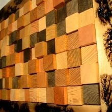 How To Make A 3D Wall Panel From Reclaimed Wood