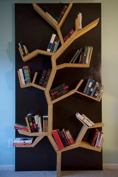 How to make a tree bookshelf diy project cut the wood how to make a tree bookshelf diy project solutioingenieria Image collections