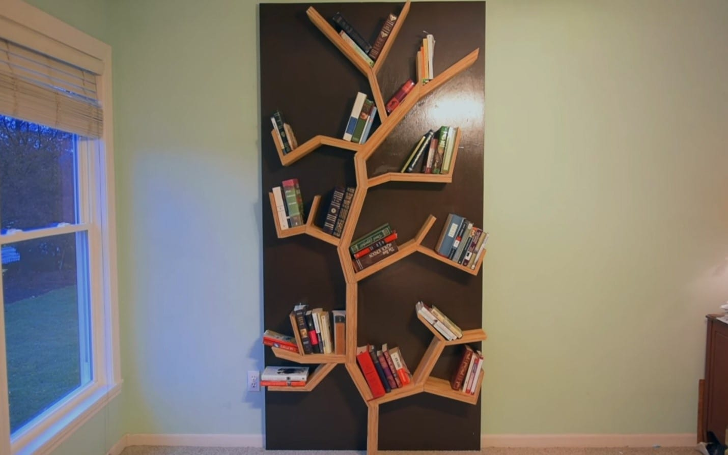 bookshelf made dogs bookcase all shaped quality a bookworms shelf tree of for