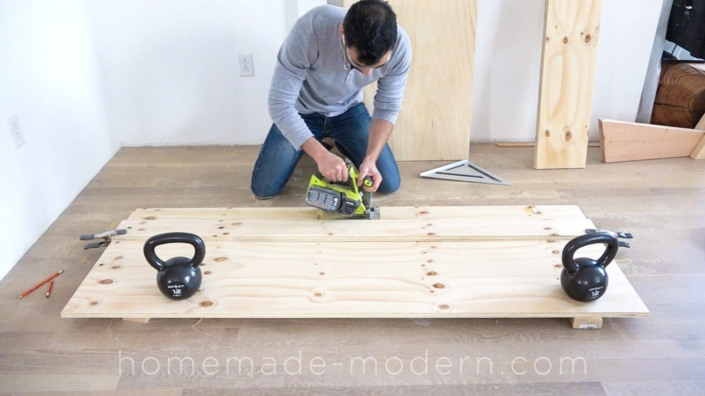 how to measure and cut plywood