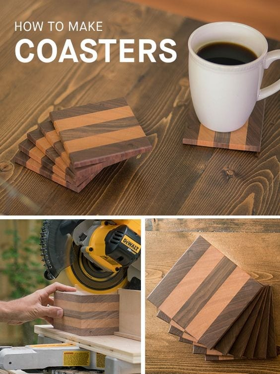 projects design unique coasters. 1  Start small with coasters 10 Woodworking Projects You Can Do at Home Cut The Wood