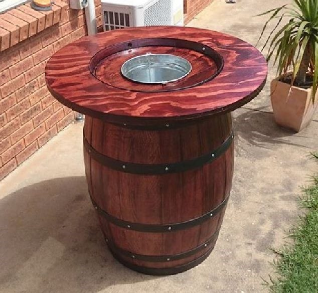 Here are 35 ways you can repurpose your whiskey and wine for How to make a wine barrel bar