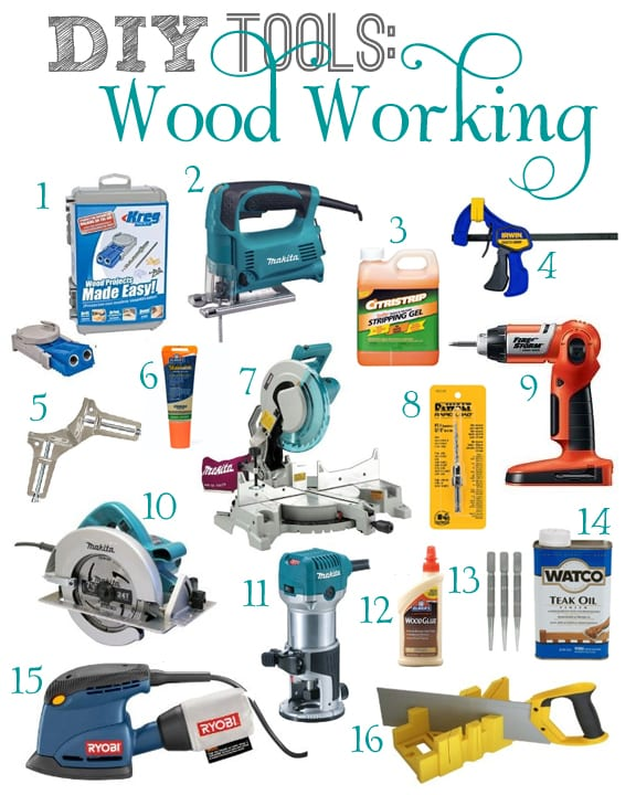 What are the basic tools required for woodworking? - Cut ...