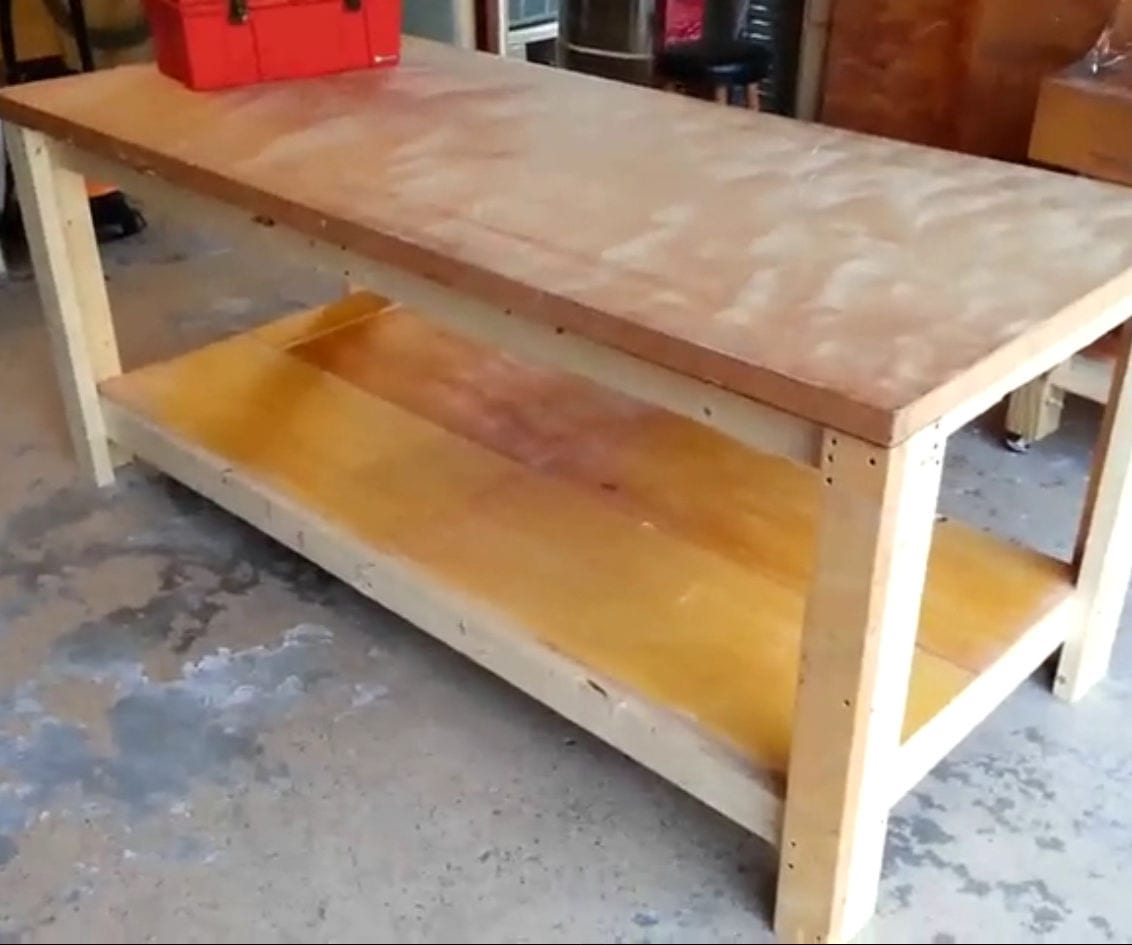 how to build a garage workbench - How To Build A Garage Workbench