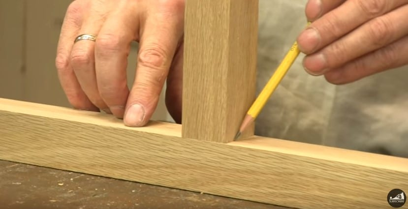 how to cut a tenon joint