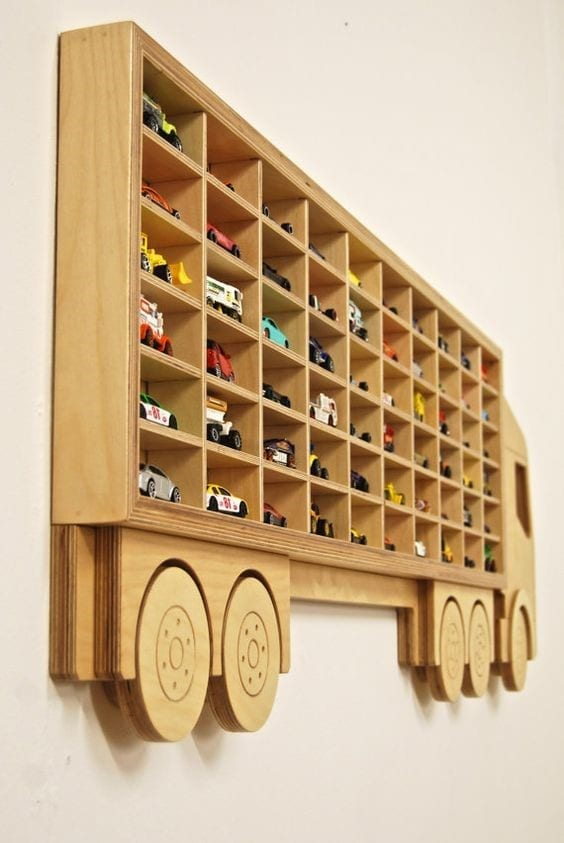 Wooden Toy Car Shelf : Cool woodworking projects for woodworkers cut