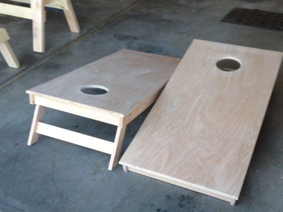 6 Corn Hole Boards