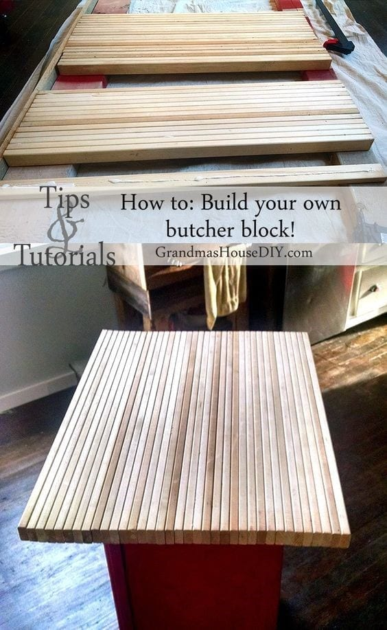9 Diy Butcher Block
