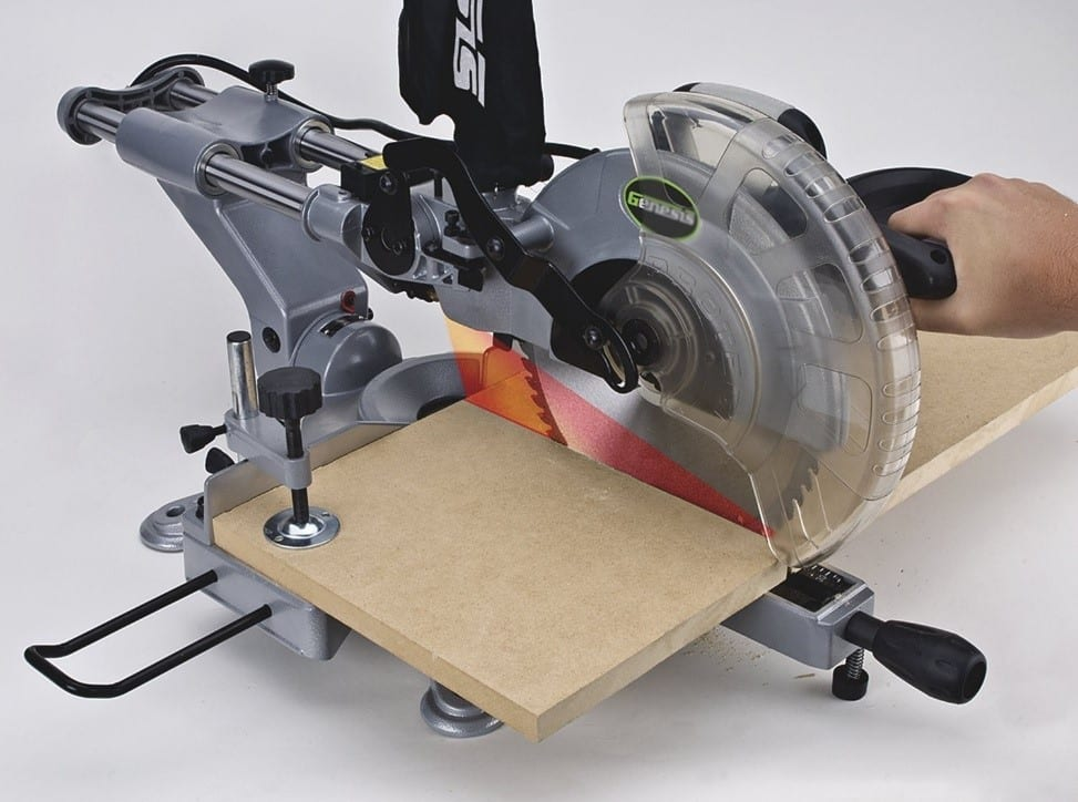 How To Use A Compound Miter Saw The Basics Cut The Wood