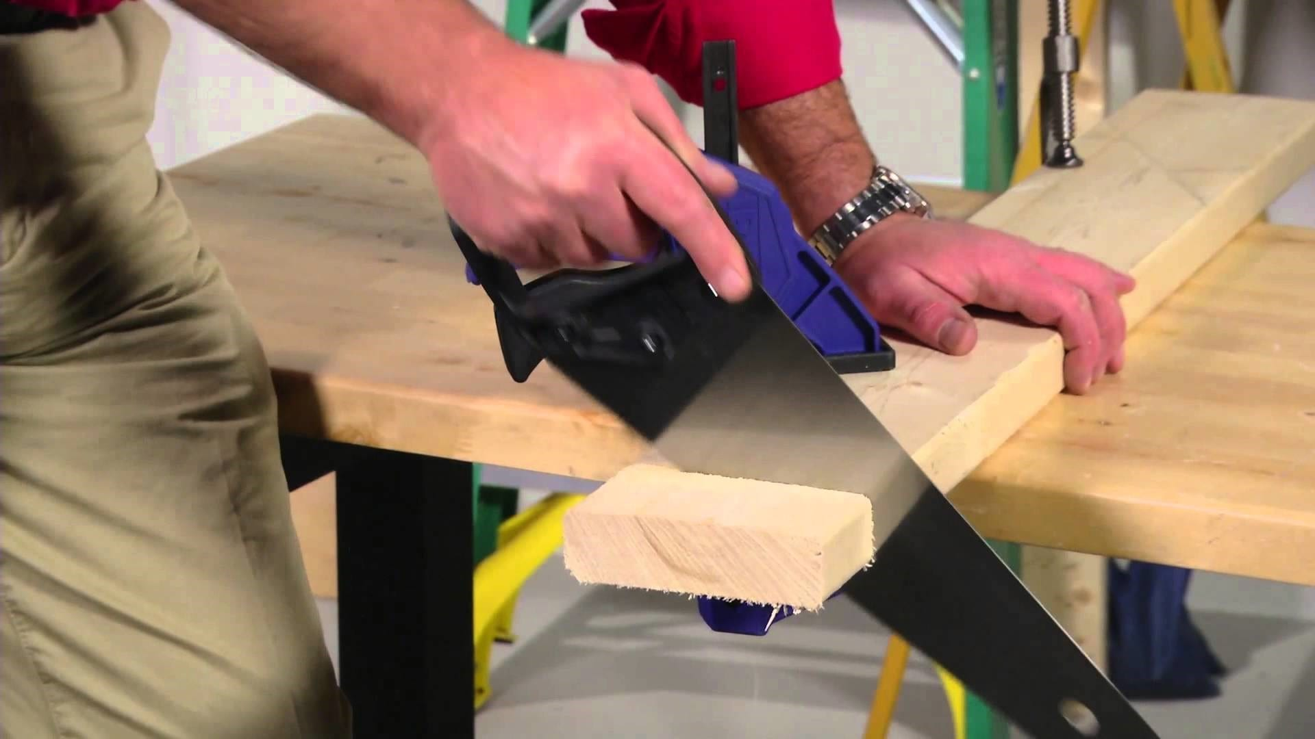 Learn How To Use A Hand Saw Correctly
