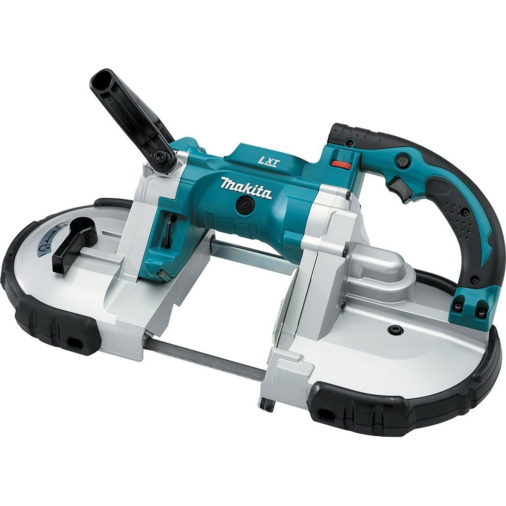 in depth review makita xbp02z 18v portable band saw cut the wood. Black Bedroom Furniture Sets. Home Design Ideas