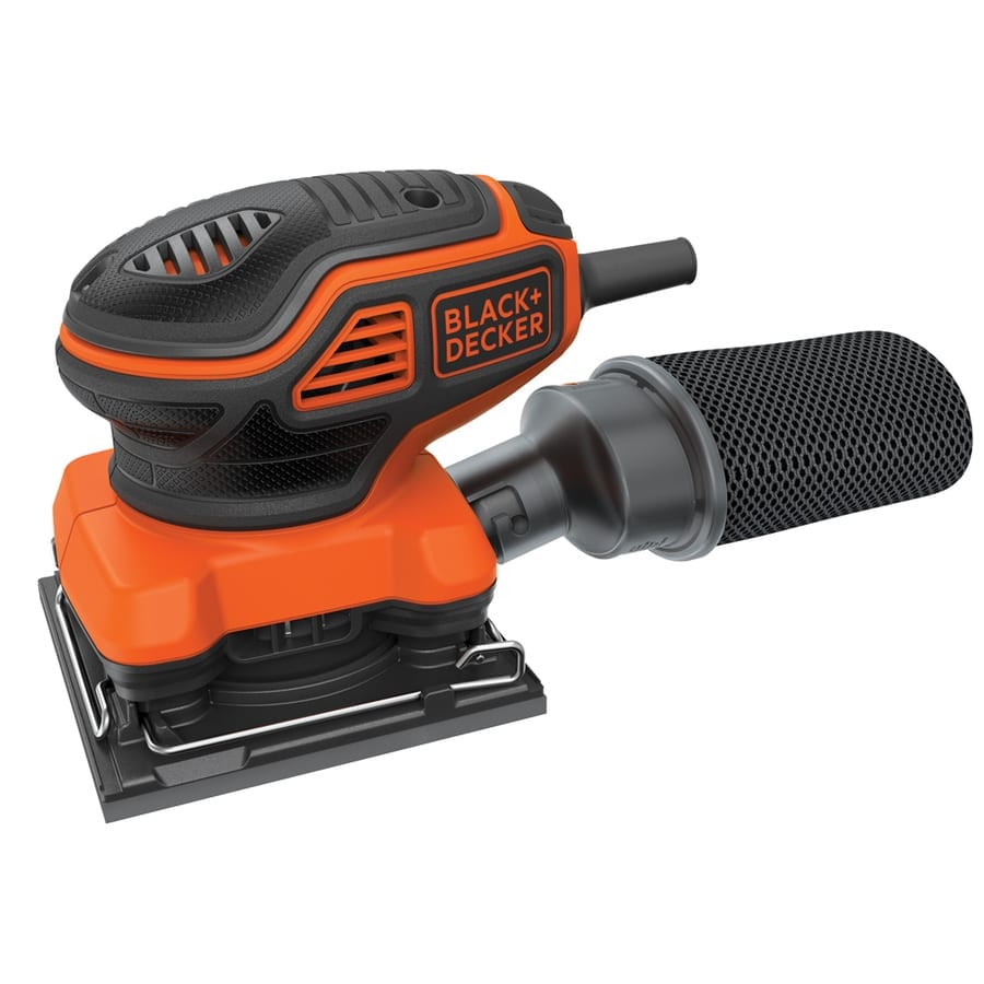 BLACK+DECKER BDEQS300 1-4-Sheet Orbital Sander