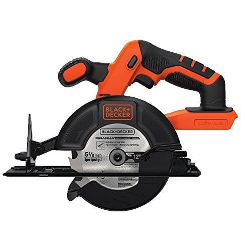 Black & Decker BDCCS20B 20-Volt MAX Lithium-Ion Circular Saw Bare Tool
