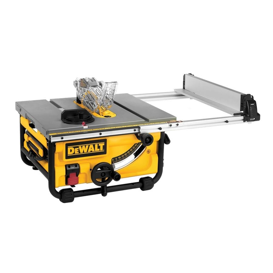 DeWalt DWE7480 Compact Jobsite Table Saw