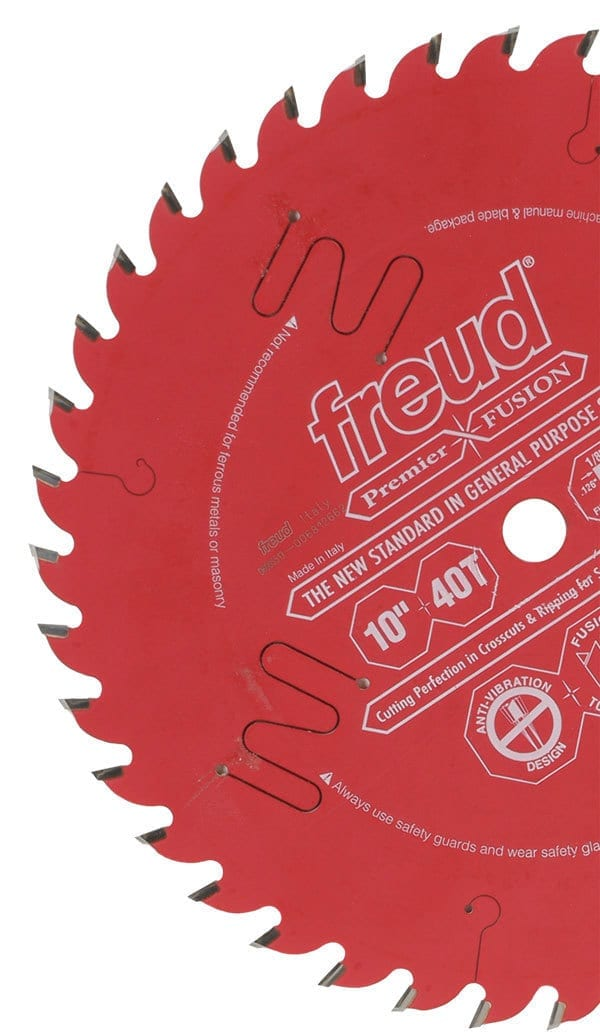 Freud 10 In. 40 Tooth Premier Fusion General Purpose Saw Blade