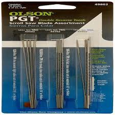 Olson Saw PG49802 Precision Ground Scroll Saw Blade